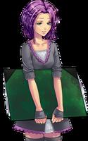 Violette-sad