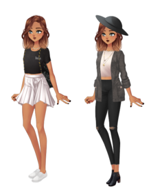 Alegria's outfits atm