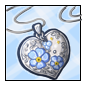 Forget-Me-Not Locket