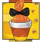 Orange Candy Corn Bag