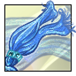 Sheer Blue Scarf