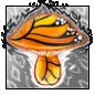 Monarch Butterfly Mushroom