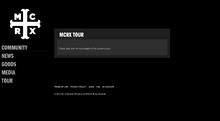 Mcrx tour site