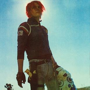 Gerard way dangerdays booklet