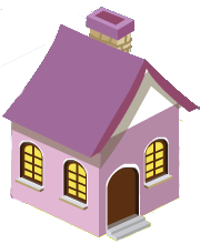 Pink Small House