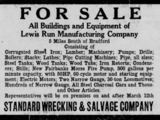 Lewis Run Manufacturing Company