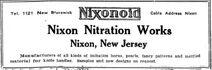 Nixonnitration