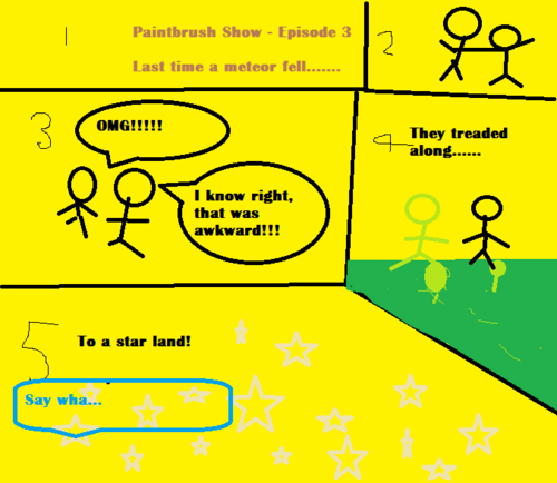 The Paintbrush Show Ep. 3 - Starfall