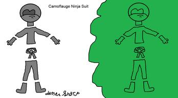 Camoflauge Ninja Suit