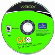 Geo Adventure Gree Guy's Returns Xbox disc NTSC