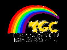 The Greeny Channel Rainbow Satelite logo