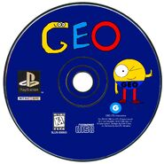 Geo (1996 video game) PS1 Disc (NTSC)