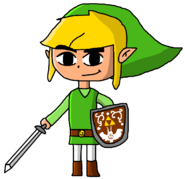Toon Link in MYCUN The Movie