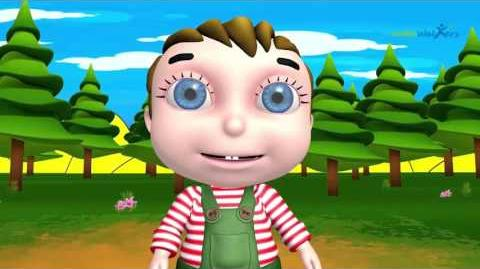 Cute Chubby Cheeks Nursery Rhyme Famous Animated Rhyme for Babies Kids Rhyme