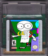 Geo Adventure 3 GBC Cartridge