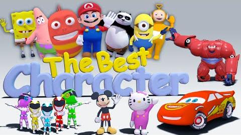 Collection The Best Character Nursery Rhymes 3D Animation In HD From Binggo Channel