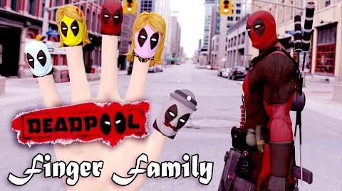 Deadpool 3D Finger Family Nursery Rhymes 3D Animation In HD From Binggo Channel