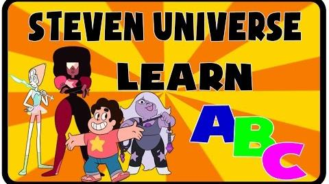 ABC Song - Steven Universe Pre kindergarten school Songs Nursery Rhymes Preschool Songs