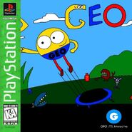 Geo (1996 video game) PS1 Cover Art (Greatest Hits)
