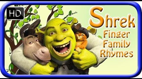 Finger Family (SHREK) Nursery Rhymes for Children and Babies My Superhero Rhymes