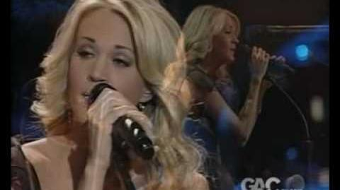 I told you so - Carrie Underwood (live)