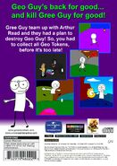Geo Adventure Gree Guy's Returns PS2 back cover NTSC
