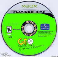 Geo Adventure Gree Guy's Returns XBOX Plantinum Hits Disc