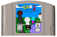 Geo Adventure 3 N64 cartridge NTSC