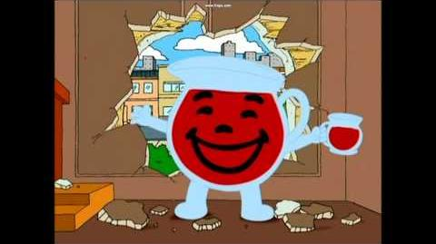 "Family Guy ""Oh Yeah"" Kool-Aid Man Parody"