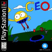 Geo (1996 video game) PS1 Cover Art (NTSC)