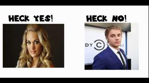 Carrie Underwood Is Better Than Justin Bieber