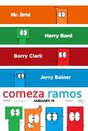 Comeza Ramos (2016) Cast Poster