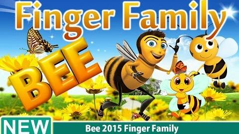 Bee 2015 Finger Family Nursery Rhyme for Children 4K Video