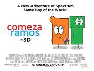 Comeza Ramos UK Quad Teaser Poster