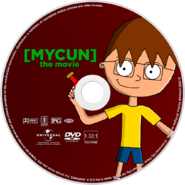 MYCUN - The Movie (2005) DVD Disc