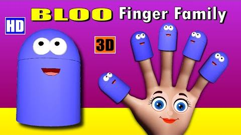 Finger Family Bloo Family Children Nursery Rhymes Cartoon Animation Nursery Rhymes for Kids
