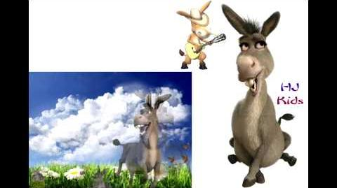 Donkey -Shrek- Singing Finger Family