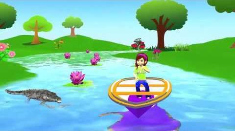 Nursery Rhyme for Kids Row Row Rhyme 3d Animated Rhyme Baby Song