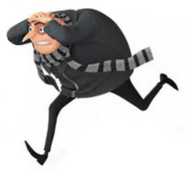 Gru running