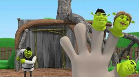 Family Finger Song SHREK Finger Family Nursery Rhyme Kid Official