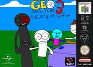 Geo Adventure 3 N64 cover PAL