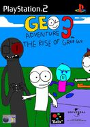 Geo Adventure 3 PS2 cover PAL