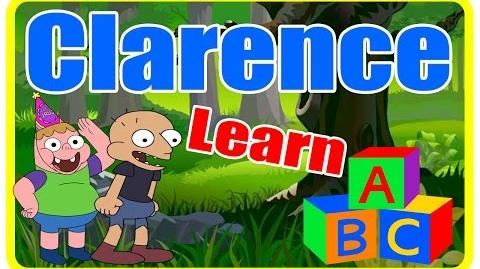 Clarence cartoon learn ABC - Pre kindergarten school Songs Nursery Rhymes Preschool Songs