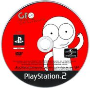 Geo Adventure Gree Guy's Returns PS2 disc PAL