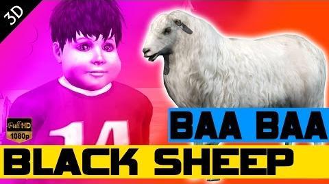 Baa baa black sheep nursery rhyme baby rhymes Kids songs