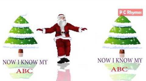 Santa Claus ABC Song for Babies Top Funny Nursery Rhyme 3d Animation Rhyme Learning Rhyme