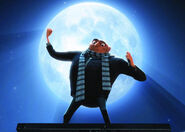 Gru stealing the moon