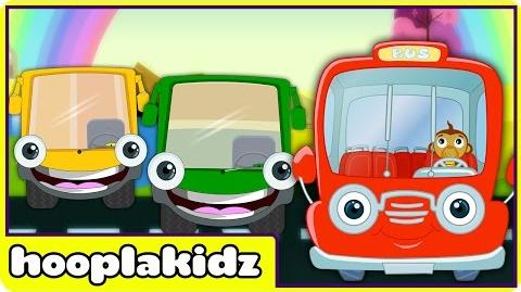Wheels On The Bus Nursery Rhymes Compilation All Versions of Bus Songs by HooplaKidz
