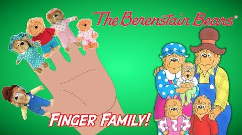 BERENSTAIN BEARS - Finger Family Song Nursery Rhyme Toy PARODY Episode Finger Family Fun