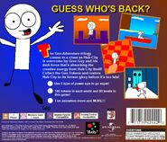 Geo Adventure 3 PS1 back cover NTSC